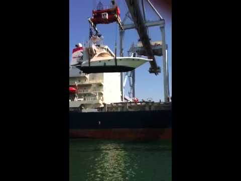 Shipping boats to Australia, call me!  WE are shipping boats down under all the time!
