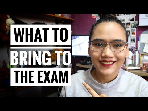 What to Bring to the Civil Service Exam - CSE Q & A