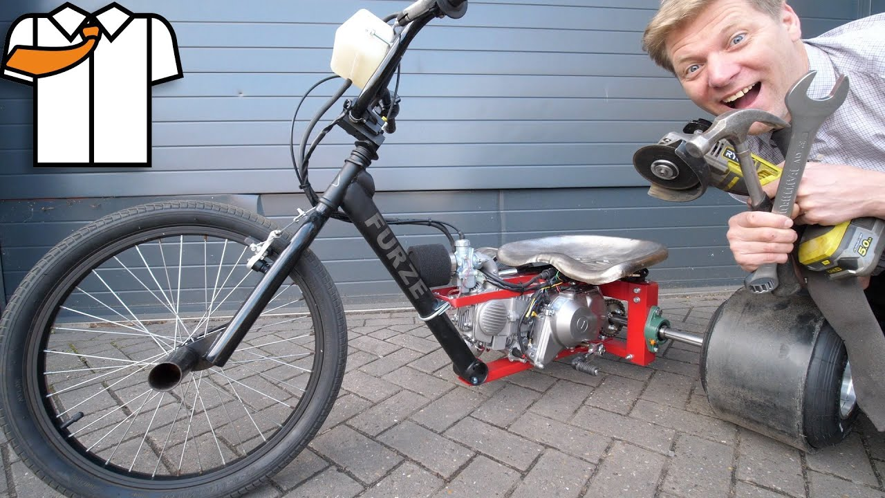 Make a Motorised Drift Trike with Basic Tools