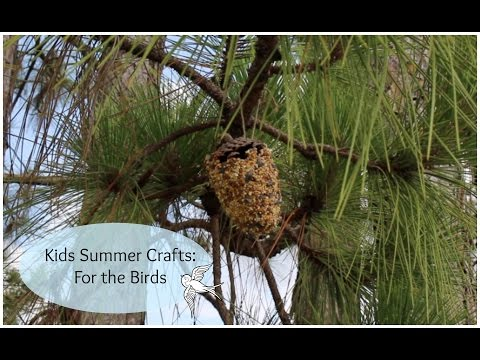 Kid's Summer Crafts: For the Birds