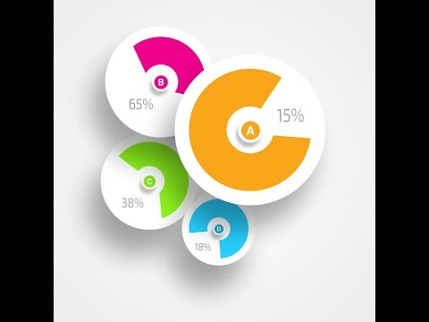 InfoGraphic Tutorial in Photoshop - Circle Pie Chart