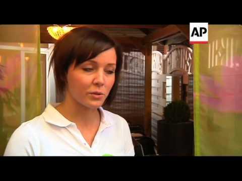 Hairdresser uses rainwater in salon