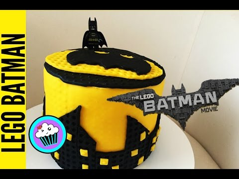 How to make Lego Batman Cake | Pinch of Luck