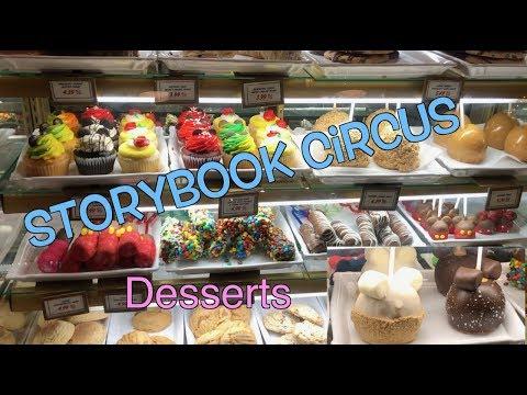 Walt Disney World: Storybook Circus Desserts