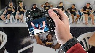 How I Film SIDEMEN Sunday videos (EXTREME FORFEIT QUIZ)