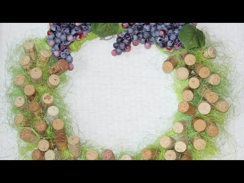 Make a Decorative Wreath of Wine Corks - DIY Home - Guidecentral