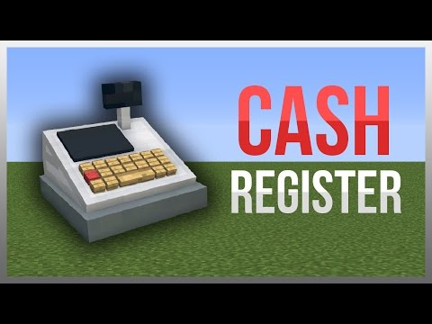 Minecraft 1.12: Redstone Tutorial - Cash Register!