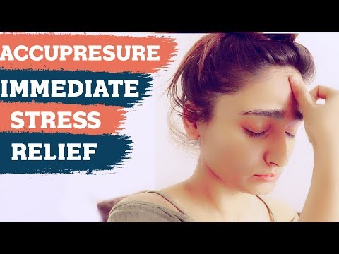 How to remove stress and anxiety naturally (FAST) | Best Acupressure points | SAMAYA YOGA