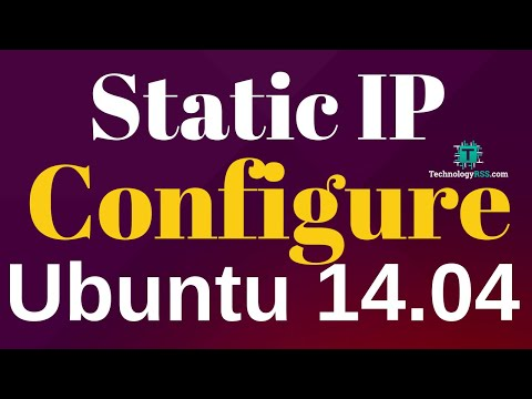 How To Configure Static IP Address On Ubuntu 14.04