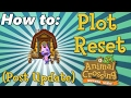 How To Plot Reset Post Update Animal Crossing New Leaf