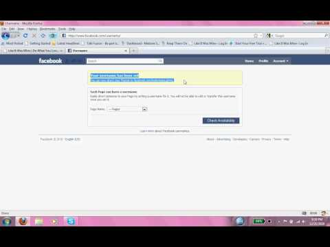 How to brand your Facebook Fanpage URL