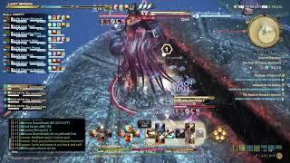 FFXIV Stormblood - Omega Deltascape V4 Savage O4S Clear Monk PoV
