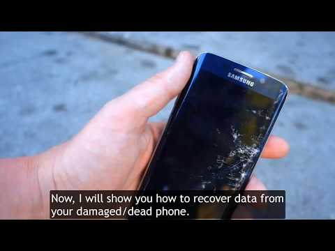 Android Data Extraction: Recover Data from Damaged/Dead Phone