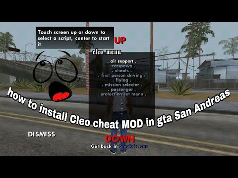 How to install Cleo cheat MOD in gta San Andreas  without root phone in android