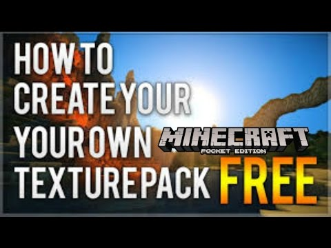 How to create your own texture pack for MCPE!! Android!