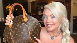 What's In My Purse - Vintage Louis Vuitton