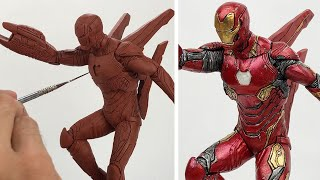Sculpting IRON MAN   Avengers Infinity War - [100K SPECIAL]