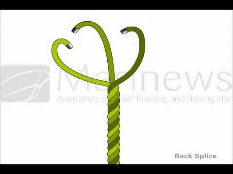 How to Tie Back Splice Knot