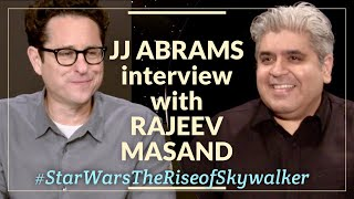 JJ Abrams interview with Rajeev Masand I Star Wars The Rise of Skywalker
