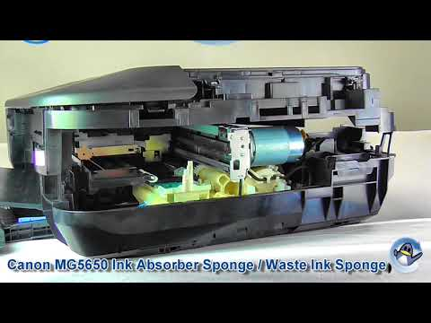 MG5650 waste ink sponge