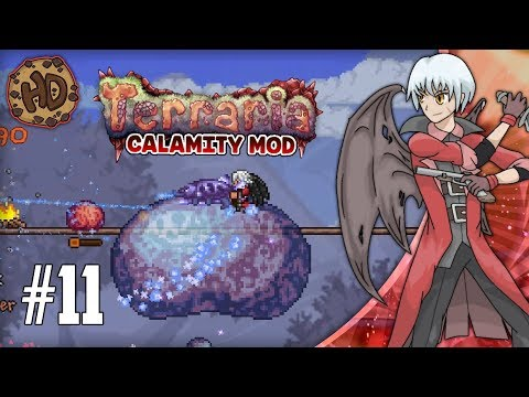 Terraria CALAMITY SUPER-MODDED Let's Play Part 11   SLIME GOD & BLACK ANURIAN !   1.3.5 Death Mode
