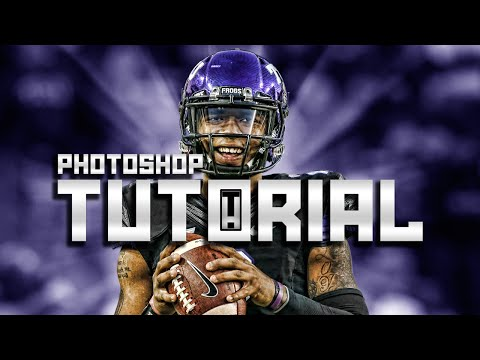 Sports Edit Tutorial (Photoshop CC)