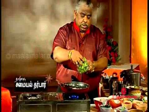 Baby Corn Salt and Pepper | Dr. Chef DamoDharan | video.maalaimalar.com