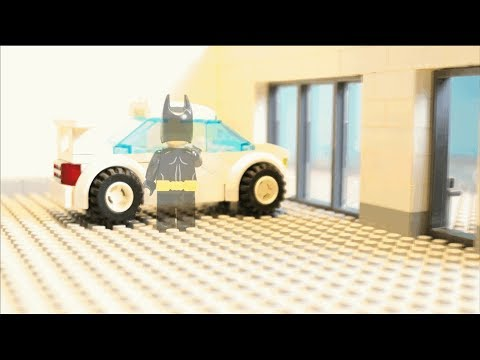 Lego Car Robbery Invisible Batman