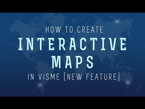 How to Create an Interactive Map with Visme