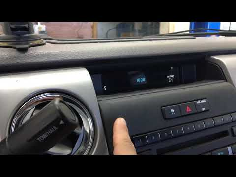 2010 Ford F-150 oil life reset(without info, set, reset buttons)