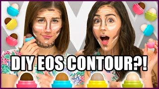 DIY EOS Contour & Highlight Sticks?! - Makeup Mythbusters w/ MayBaby & Cassie Diamond