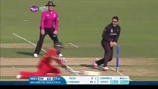 ICC #WT20 Hong Kong vs Zimbabwe Highlights