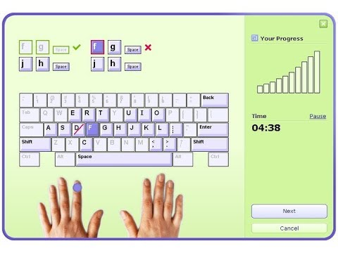 Learn typewriting speed prograss in tamil