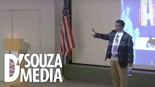 D'Souza absolutely DESTROYS leftist college student