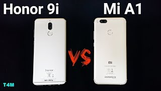 Honor 9i vs Xiaomi Mi A1 SpeedTest| Honor 9i vs Mi A1 Comparison