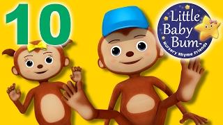 Ten Little Fingers and Toes | Nursery Rhymes | By LittleBabyBum!