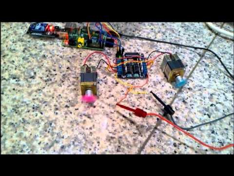 Raspberry Pi Mobile Robot system using Java GUI and Xbee / Zigbee as communication