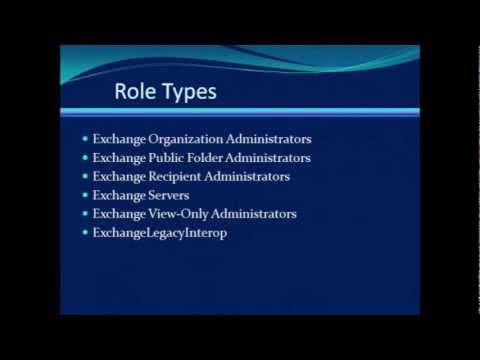 An Overview of Administrative Roles in Exchange 2007