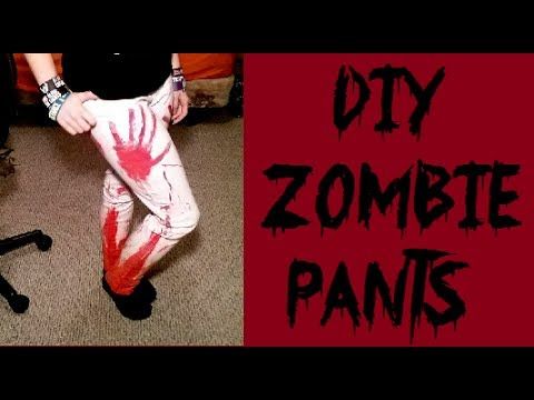 DIY Gore/Bloody Zombie Pants