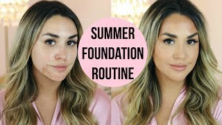 HOW TO COVER DARK SPOTS COMPLETELY! FOUNDATION ROUTINE