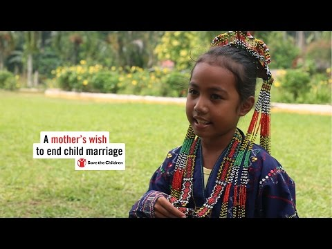 A mother's wish to end child marriage