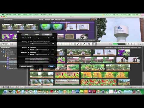 iMovie 09 - Adjusting Audio Levels (27)