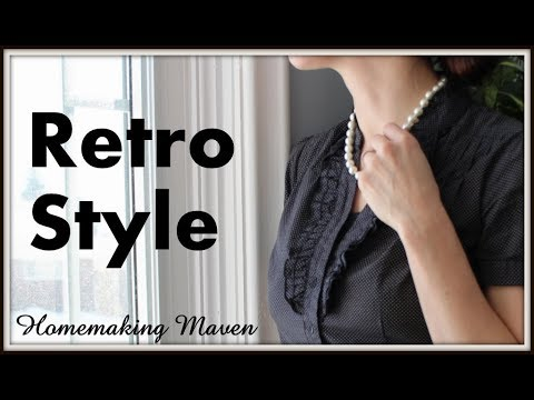 1940's Retro Outfit Series | OOTD 3| Homemaking Maven