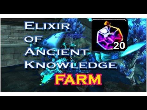 Elixir of Ancient Knowledge FARM!!-español