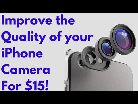 Improve the Quality of your iPhone Camera for $15!