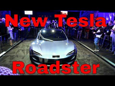 Tesla New Roadster 2017 Design Prototype (Not Functional)
