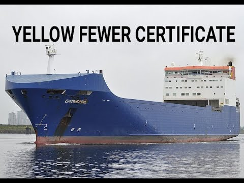 Marchant navy -ll YELLOW FEWER CERTIFICATE ?