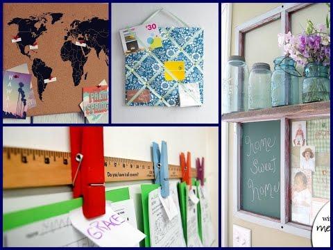 Memo Board - DIY Home Decor Ideas