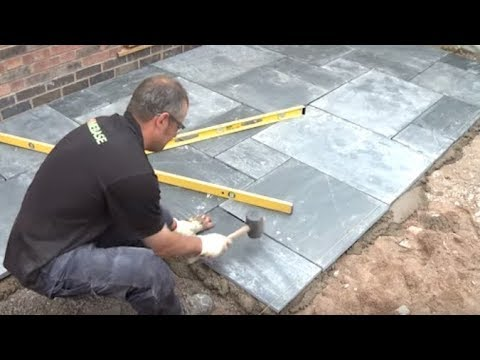 How To Lay A Patio - Expert Guide To Laying Patio Slabs | Garden Tips | Homebase