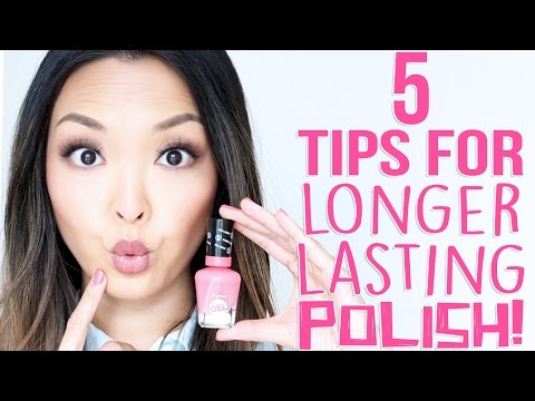 HOW TO: Make Your Nail Polish Manicure Last Longer!